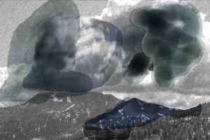 I always haved loved clouds and storms. In this piece I used one of my photographs, altered it, digitally painted it. Clouds touch me deeply.
