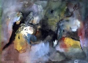 One of my earliest paintings.
